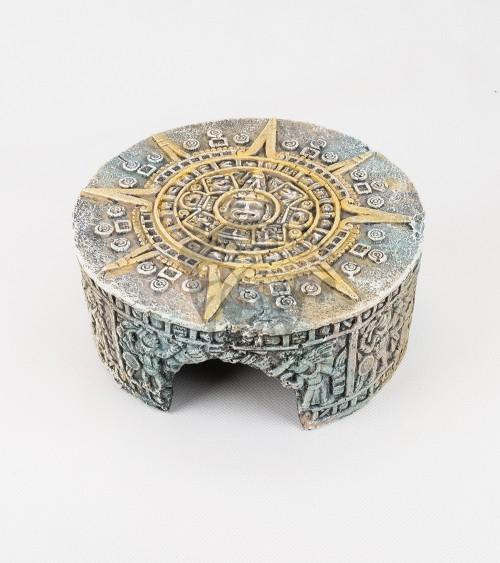 Aztec Calendar Stone Hide Small