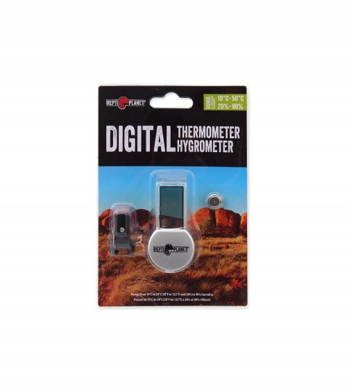Termometr i higrometr LCD REPTI PLANET