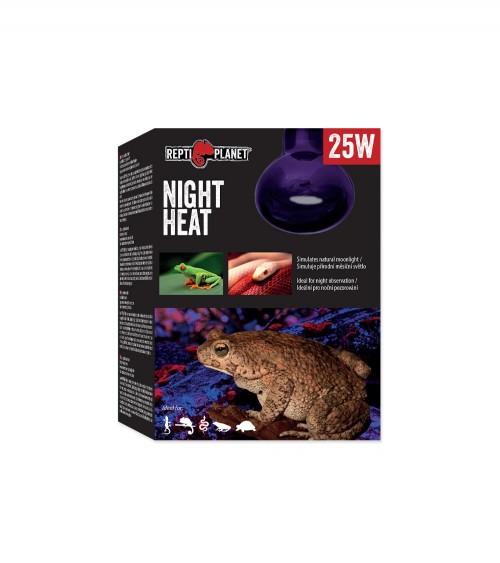 Żarówka nocna niebieska Night Heat 25W REPTI PLANET