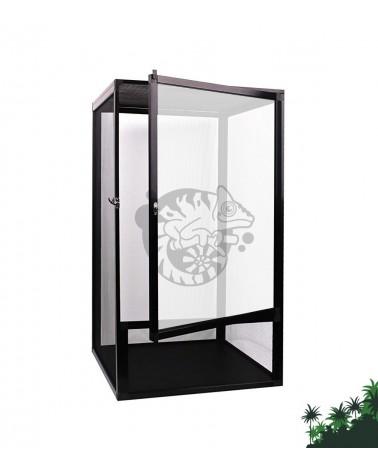 Terrarium siatkowe z akrylem 45x45x80 cm